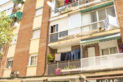 fachada del piso en la calle fuenlarada de alcorcon